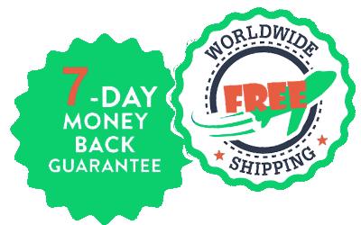 money back+free shipping 2